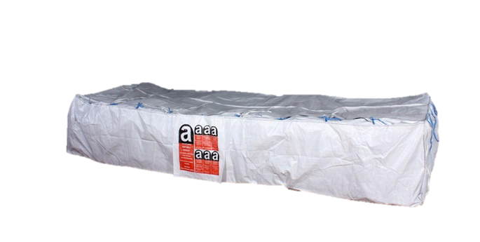Asbestos container bags